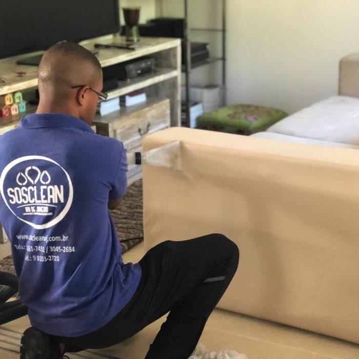 preço de lavagem de sofá