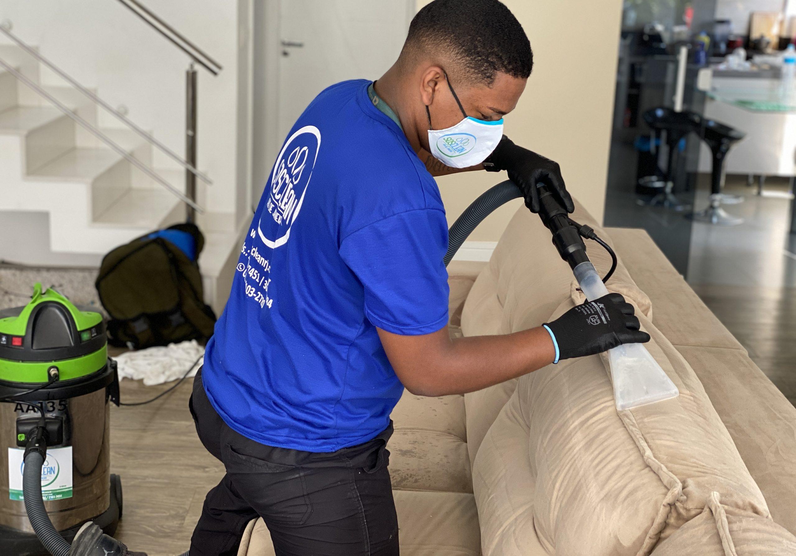 limpeza de sofá rj